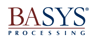 BASYS Processing logo and link to BASYS Processing website.